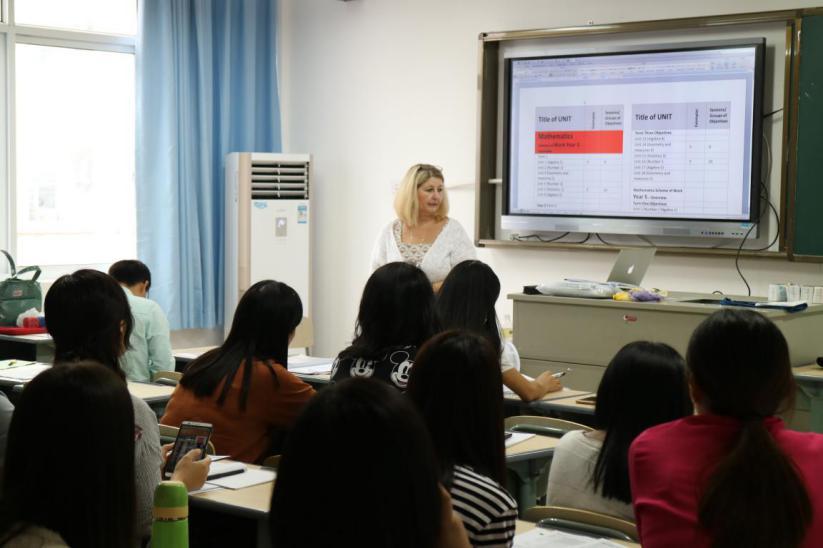 双语学校国际部举办培生爱德思PLSC课程师资培训