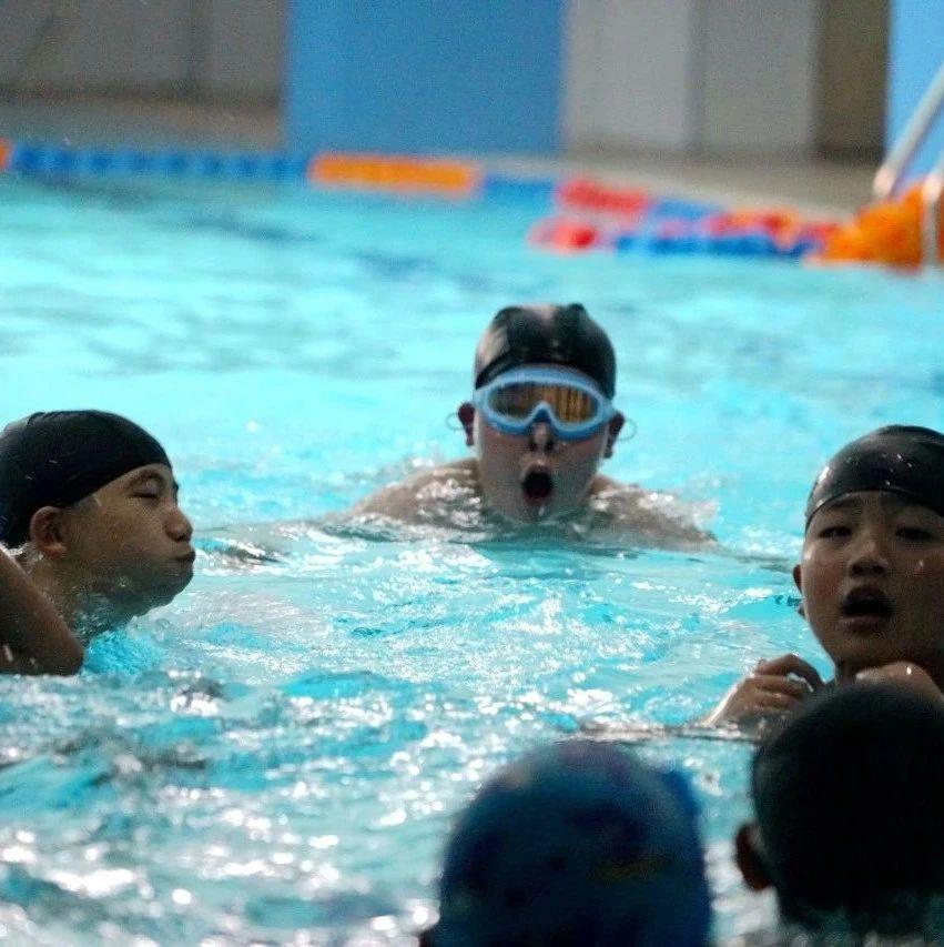 人人学会游泳,赌博网游泳课复课啦!