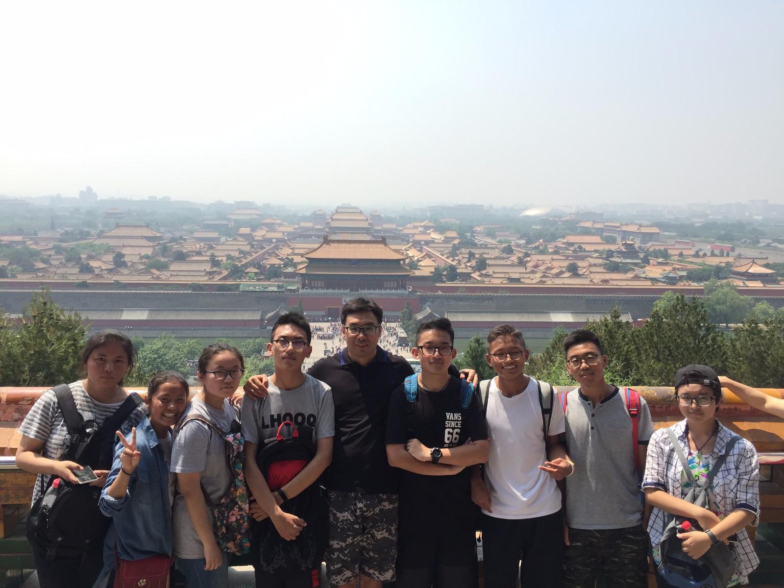 图5:带领西藏学生走进故宫、景山,了解澳门历史文化.jpg