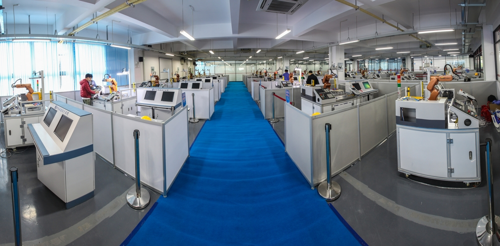"""智能生产系与德国技术机构合作,建立""""德国自动化技术中心"""",共同培养智能生产的高级技术人才。"""