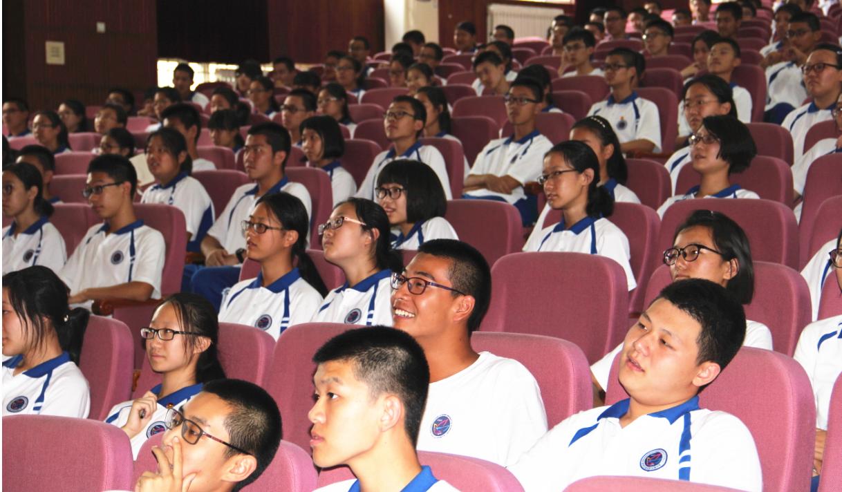 高中部开展高一入学系列教育活动