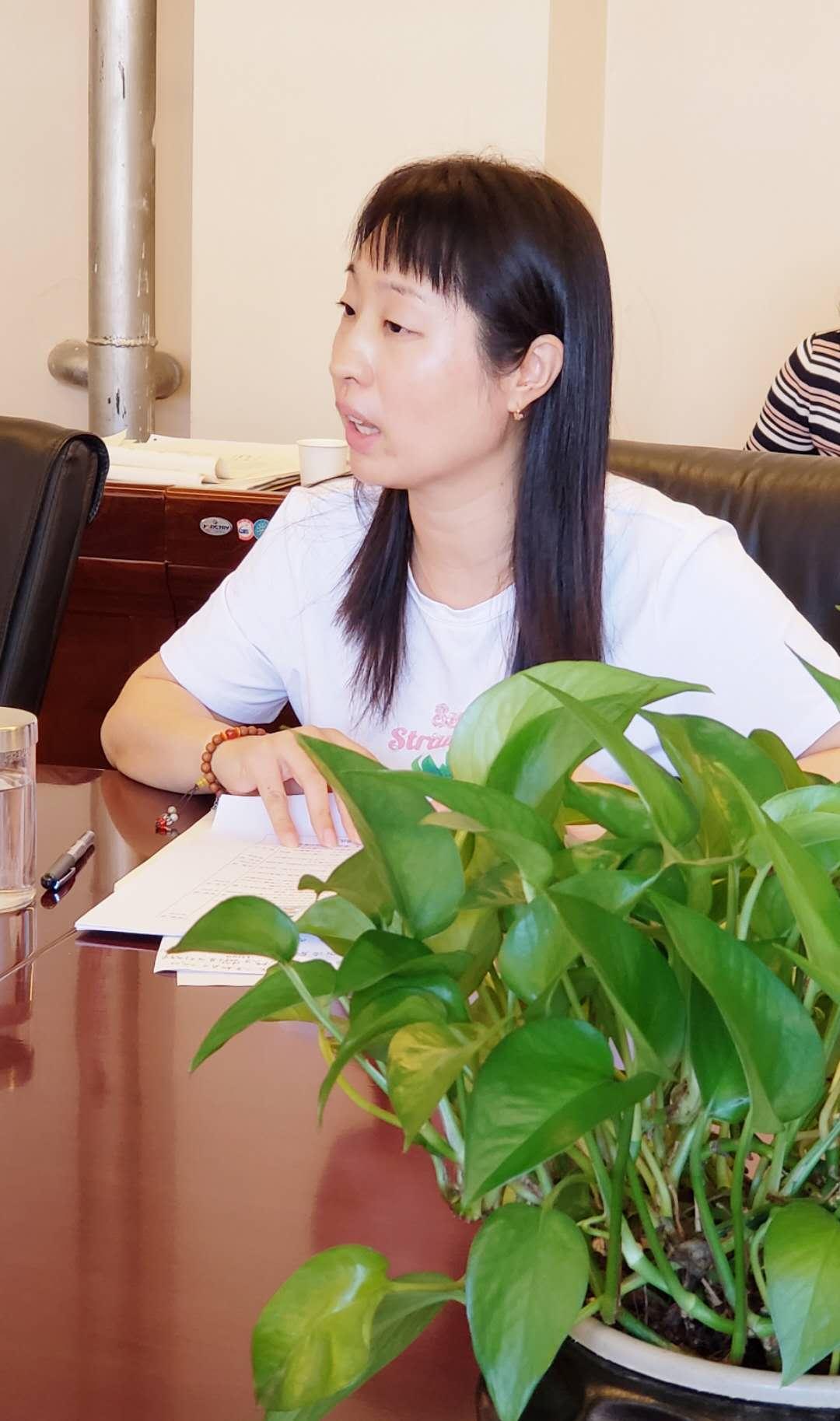 李敬老师就一年级新生入学教育培训及第一天报道相关工作进行解读.jpg