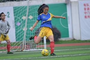 台州市第五届青少年足球联赛赛场球员风采