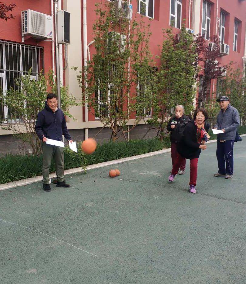工大附中老教协分会举行体育文化节单项测试活动