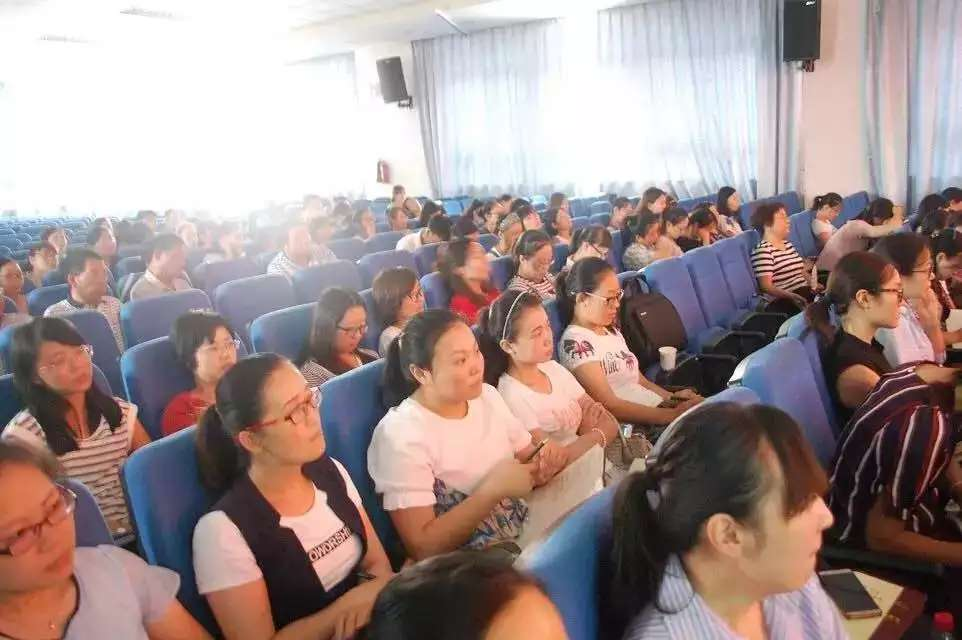 郑州94中《阳光心态的修炼》专题讲座
