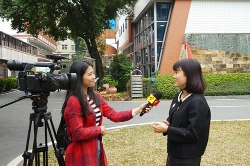 丘毅清校长接受广东广播电视台教育频道的采访.JPG