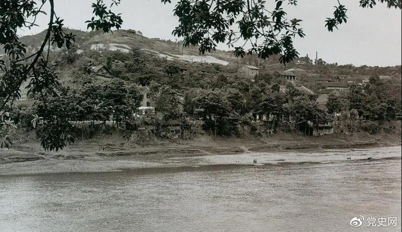 1935年3月16日至17日,红一方面军三渡赤水的渡口之一——茅台渡口。