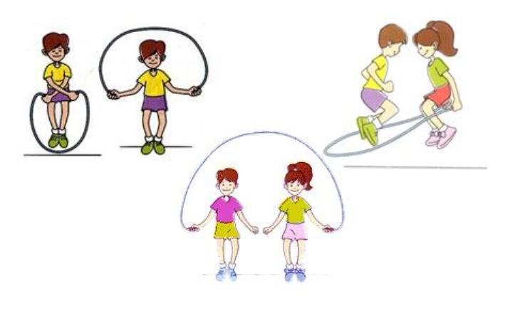 跳出健康   舞出精彩——茂峰学校举行七、八年级跳绳比赛活动