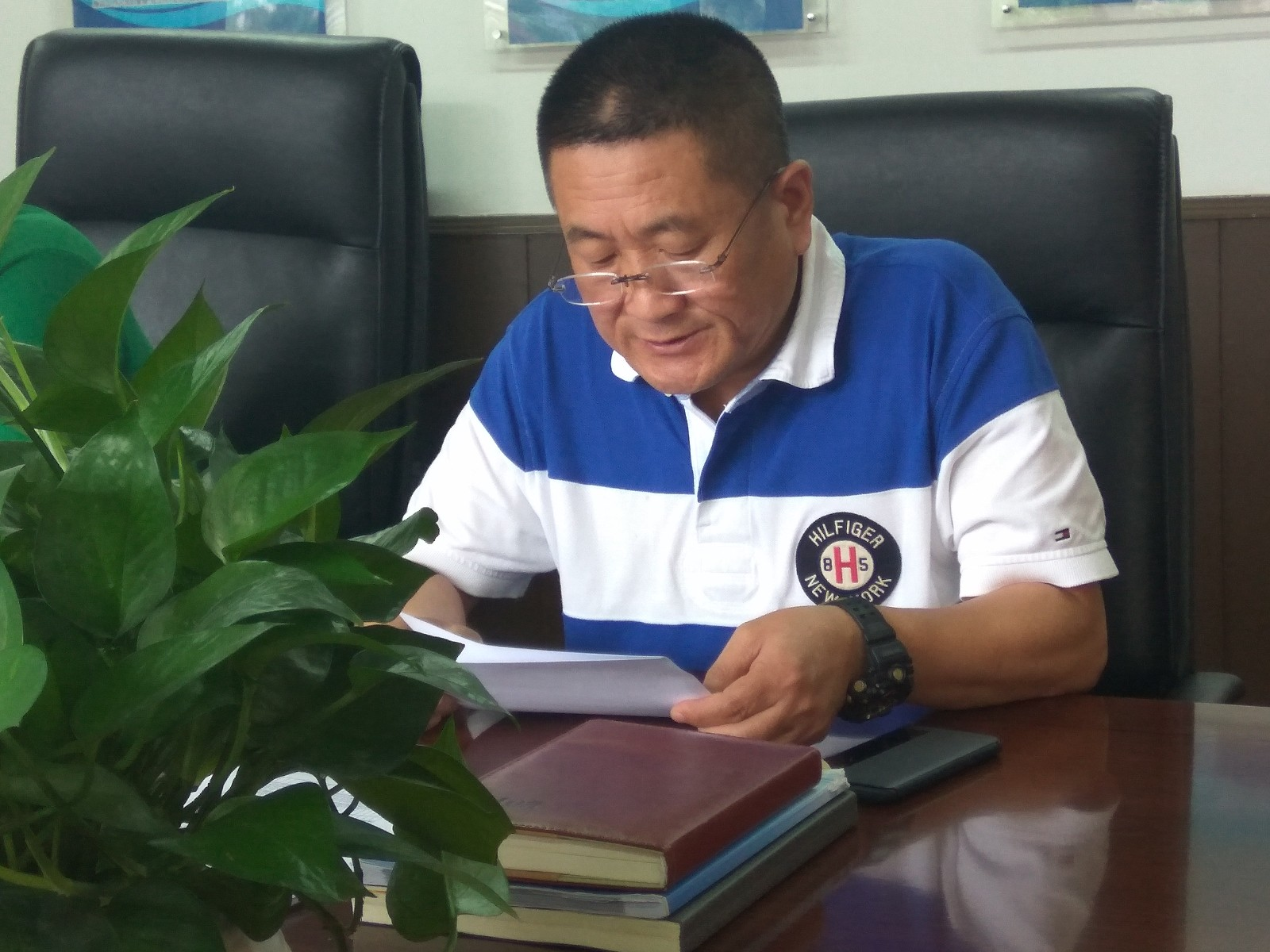 党员尹大勇学习《马云管理》读书分享.jpg
