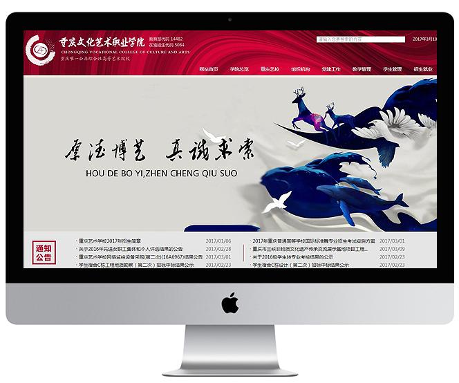 重庆文化艺术职业学院 案例
