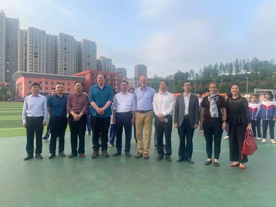 【校际交流】上海惠灵顿国际学校魏安德校长一行来访