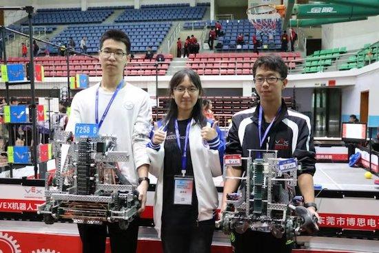 喜报:我校VEX机器人社团获第九届亚洲机器人锦标赛VEX中国区选拔赛冠、季军并获得晋级世锦赛资格