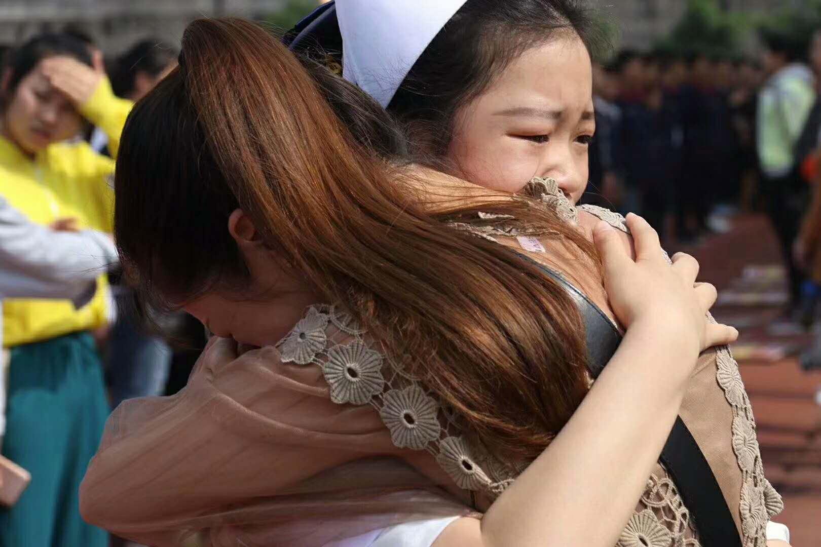 重庆市荣昌区职业教育中心《不要让爱你的人失望》全国巡回演讲